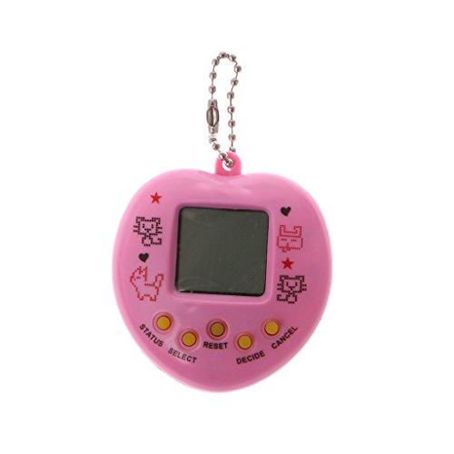 BIlinli Macchina da Gioco Elettronica per Animali Domestici Tamagochi Learning Education Toys with Chain