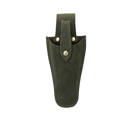 QEES Lederetui Werkzeug-Holster Messerhalter Messertasche Multizweck-Tasche für Scheren Messer Zangen HYJDB01-Stil 3