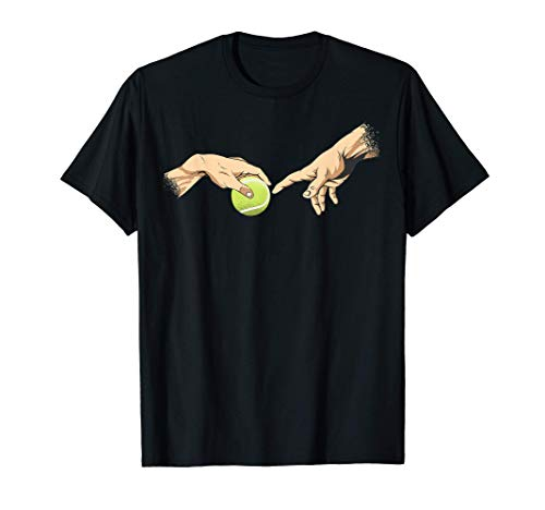 Tennis Balls Giocatore di tennis Tennista Art Tennis Maglietta