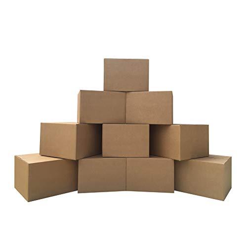 """UBoxes 10 Extra Large Corrugated Moving Boxes 23 x 23 x 16"""""""