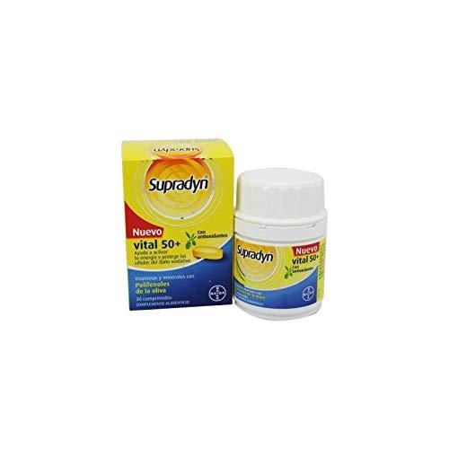 Supradyn Vital 50+ - 50 gr, 30 Comprimidos
