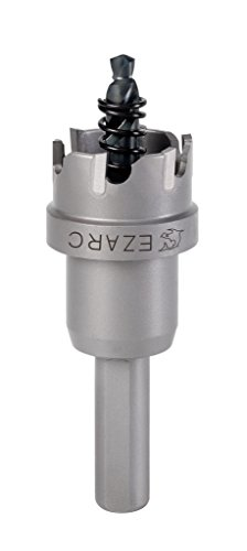 EZARC Carbide Hole Cutter Heavy Duty for Stainless Steel, 3/4 Inch 19mm