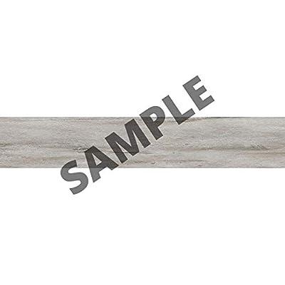 "Luxury Vinyl Floor Tiles by Lucida USA | Peel & Stick Adhesive Flooring for DIY Installation | Sample Wood-Look Plank | 6"" x 12"""