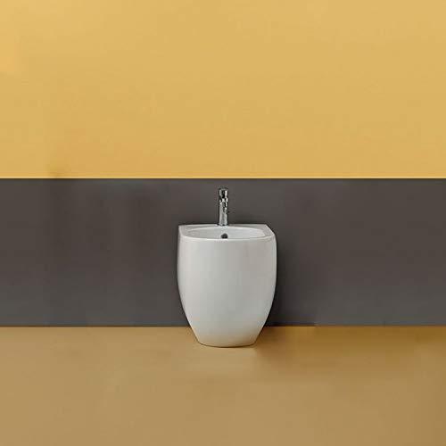 KERASAN Bidet filomuro 48 cm Bianco Lucido Serie Flo