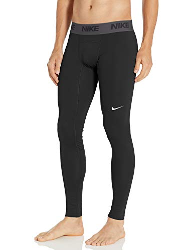Nike Men's Baselayer Therma Tight, Black/Anthracite/White, Large