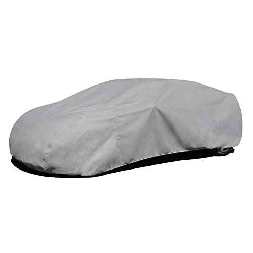 Budge RB-3 Rain Barrier Car Cover Gray Size 3: Fits up to 16' 8' Outdoor,Breathable