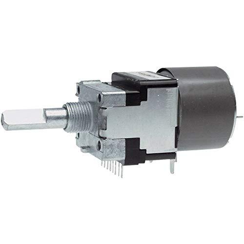 ALPS RK16812MG 10KDX2 Motor-Potentiometer staubdicht Stereo 0.05 W 10 kΩ 1 St.