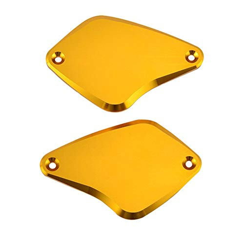 ZRNG Vorderbremse Kupplungs Reservoir-Abdeckungen Kappen Sitz for Ducati Diavel Carbon-2012-2016 / Strada 2013 / AMG Cromo 2012 Xdiavel/S 2016-2019 (Color : Gold)