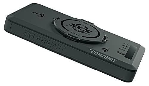 SKS GERMANY +COM/UNIT Powerbank mit integriertem NFC-Chip, Fahrradzubehör (Zubehör für Fahrräder mit Möglichkeit zum kabellosen Laden, Qi-zertifiziert, inklusive USB-Anschluss und Ladekabel)