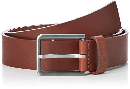 Calvin Klein Herren 35mm Essential Belt Gürtel, Braun (Dark Tan Gae), 95 (Herstellergröße: 105)