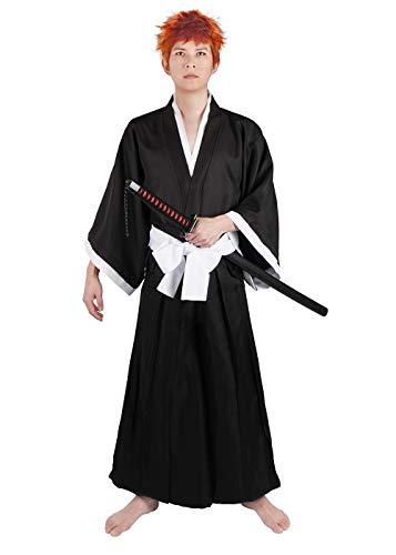 CoolChange disfraz Shihakusho de Ikigo Kurosaki de Bleach. Talla: M