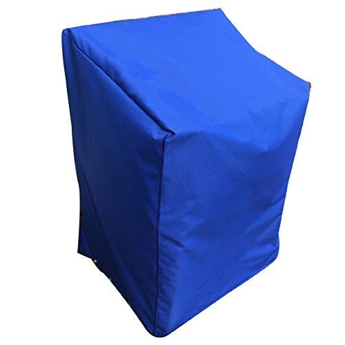 Sisizhang Staubdichte Abdeckung Mechanische Sonnencreme Wasserdichtes Oxford-Tuch, 3 Farben, 4 Größen (Color : Blue, Size : 270X180X89CM)