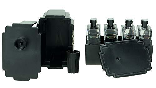 SupplyGuy Kit Recarga Compatible con Canon PG-540 Cartuchos - 4X Nero - Incl. Accesorios para el llenado fácil y Limpio de los Cartuchos