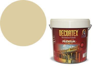 PINTURA PAREDES interior,exterior DECORTEX LISO PREMIUM. Pintura blanca y de colores. Pintura ideal para monocapa. Pintura lavable. Pintura acrílica al agua. 23 y 6 kg (14 y 4 lt). (damasco 4lt)