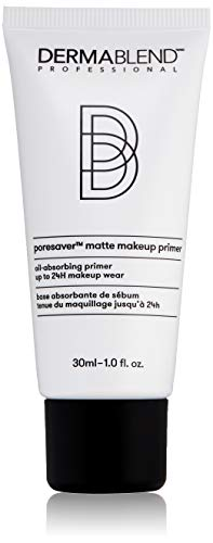 Dermablend Poresaver Matte Makeup Primer for Oily Skin, Pore Minimizing with Oil Control, 1.0 Fl. Oz.
