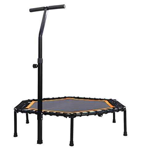 Volwassen Fitness Trampoline - Verstelbare Armleuningen - Elastische Fitness Mat - Opvouwbaar en gemakkelijk op te bergen - Kindertrampoline - Ultra-Quiet - Maximale belasting 300kg