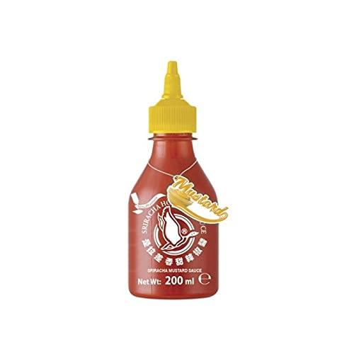 Flying Dragon - Salsa piccante al peperoncino Sriracha - Salsa alla senape - 200 Ml