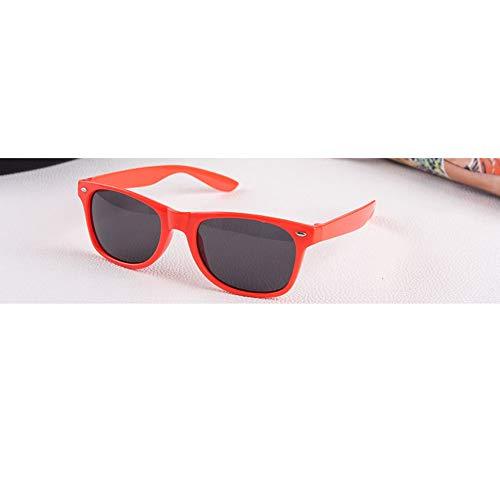 JUZEN Gafas de Sol, señoras Gafas de Sol Retro Moda Espejo Redondo Tendencia al Aire Libre Gafas,Red