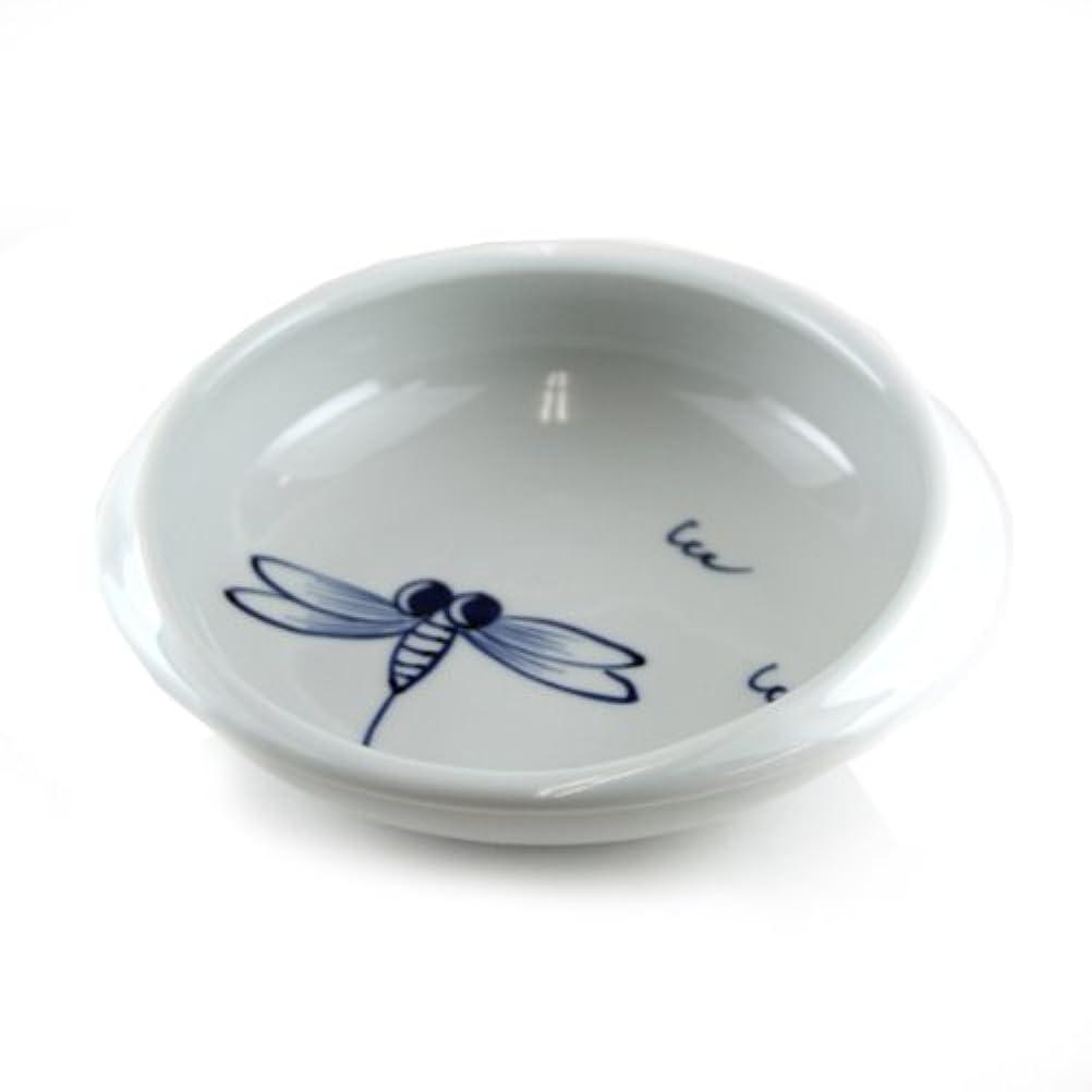 脱臼する不利覚醒すくい易い食器 丸鉢 とんぼ