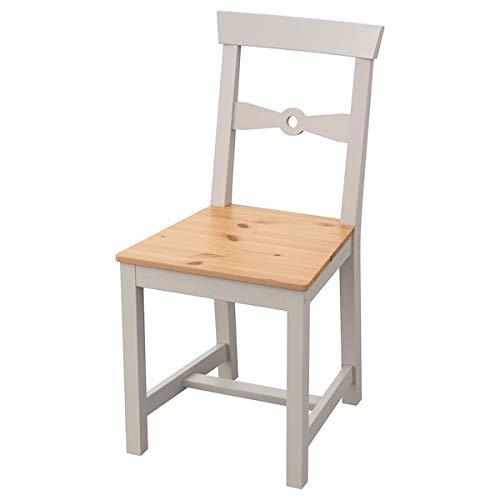 BestOnlineDeals01 GAMLEBY, silla, color gris claro, 42 x 50 x 85 cm, resistente y fácil de cuidar. Sillas de comedor. Sillas. Muebles. Respetuoso con el medio ambiente.