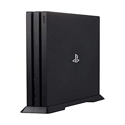 Kailisen PS4 Pro Vertical Stand for Playstation 4 Pro with Built-in Cooling Vents and Non-slip Feet