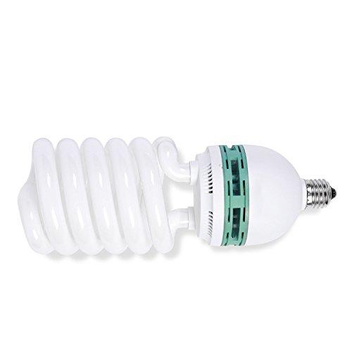Phot-R 625 W (125 W), 220 V, 5500 K, attacco E27, lampada fluorescente CFL a risparmio energetico a spirale per fotografia, video, studio fotografico.