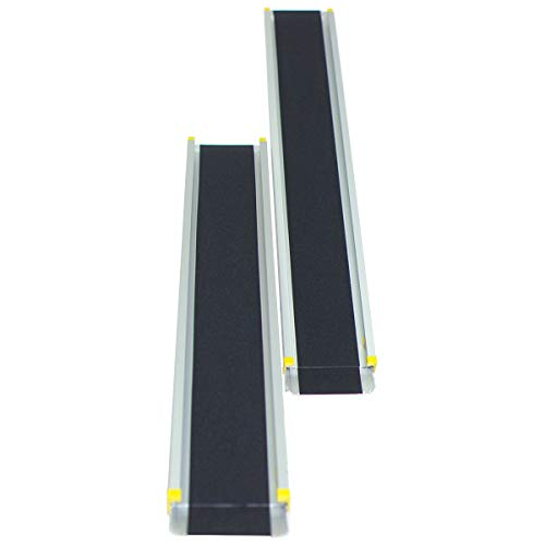 COSTWAY 2 Rampas de Carga Rampa Telescópica de Aluminio Carga hasta 270kg 🔥
