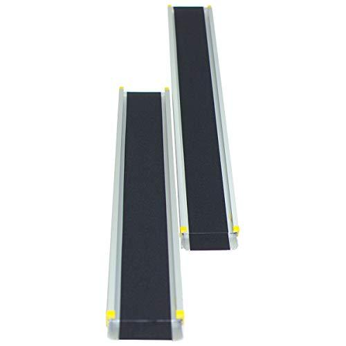 COSTWAY 2 Rampas de Carga Rampa Telescópica de Aluminio Carga hasta 270kg ⭐