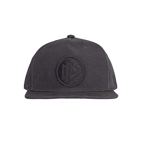adidas DFB Snapback Cap Kappe, Carbon/Carbon/White, OSFM