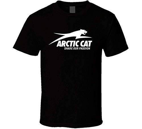 T Shirts Arctic Cat ATV Extreme Snow T Shirt 3XL Black