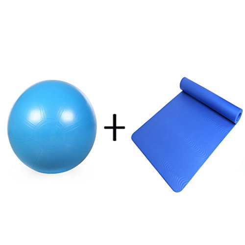 XY&CF Yoga Ball Dicke explosionssichere Balance Sport Gewichtsverlust Schwangere Frauen Lieferung dünne Fitness Ball Zwei Sätze von 65cm