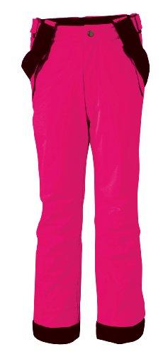 Maier Sports Maxi Slim mTEX Pantalon de Ski pour Enfant Rouge Rose 140 cm