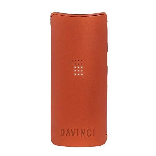 Davinci MIQRO Vaporizer - Premium Kräuter-Verdampfer mit Präzisionstemperatur für Reinen Geschmacksgenuss, Standard-Set, Orange