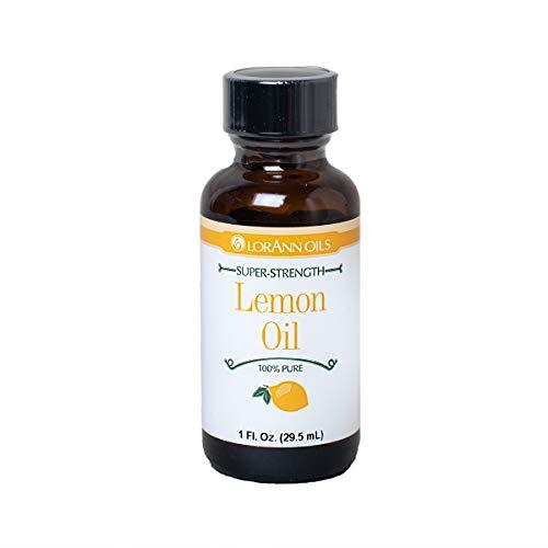 LorAnn Lemon Oil, Natural Flavor, 1 ounce