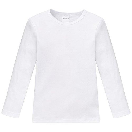 Schiesser Jungen Unterhemd, Gr. 98 (Herstellergröße: 98 (2Y)), Weiß (100-weiss)