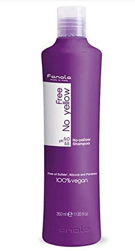 Fanola Official No Yellow Vegan Shampoo (350ml)