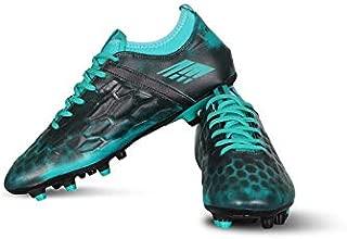 Vector X Flyer Football Shoes (Black-Sea Green)