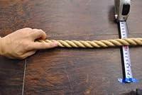 麻ロープ分径18mm1m単位切り売りNGR60011170