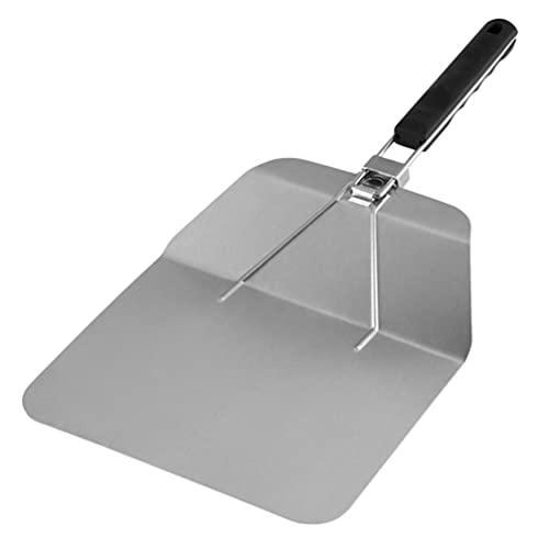 UPKOCH Di Cottura Pala della Pizza Buccia in Acciaio Inox Pala Spatola Cake Lifter Paddle Rotonda della Torta Pala di Cottura di Strumenti per La Cucina di Casa (Argento)