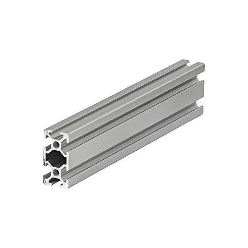 Systemprofil Aluminium Profil 2040 Nut 6 Montageprofil Stangenprofil Strebenprofil Nutprofil Bauprofil 20x40