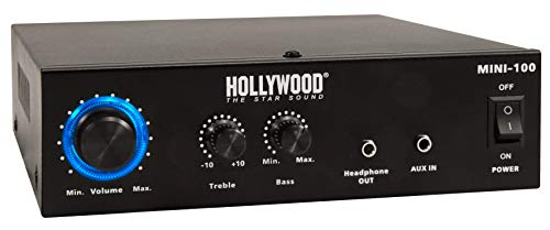 HOLLYWOOD the Starsound - HiFi-Verstärker | Mini-100 | 100W | HiFi Endstufe