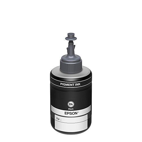 Epson Botella de Tinta Ecotank color Negro para serie Monocromática, T774120