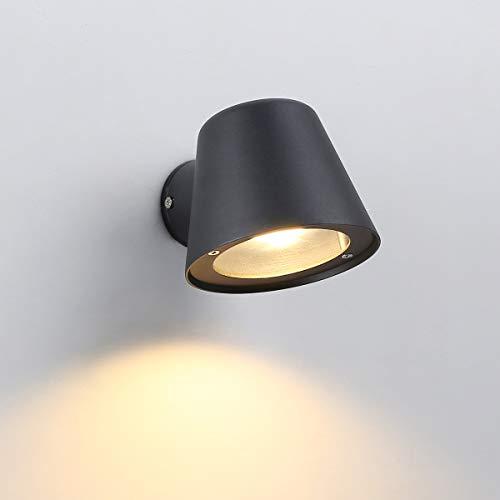 Apliques de Pared Interior Negros Marca Barcelona LED