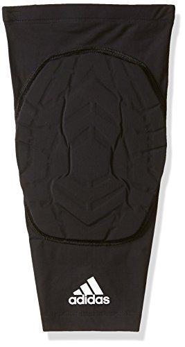 adidas Camiseta de baloncesto Techfit padded knee Sleeve - S15TF501BBALL, Negro