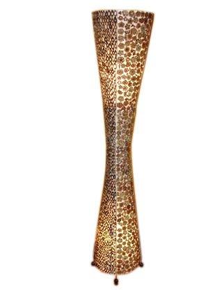 Unbekannt Stehleuchte Phantasie 1,5m Bambus große Stehlampe
