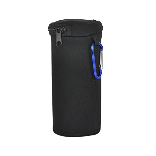 Meijunter Black Sleeve Storage Pouch Portable Soft Bag Protective Case Cover for Amazon Tap Bluetooth Speake