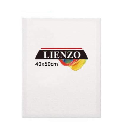 Lienzos para pintar   Apto óleo, acrílico o técnica mixta Pre-estirado 100% algodón 380grs/ Perfil 35mm (40 x 50 cm)