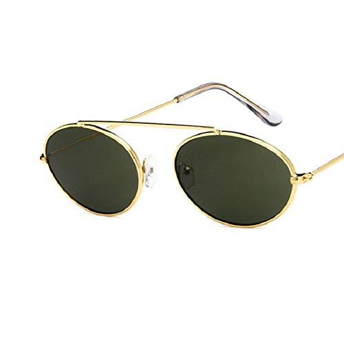 Gafas De Sol Gafas De Sol Punk Vintage para Mujer, Gafas De Sol con Montura para Hombre, Gafas De Moda, Pequeño Diseñador De Lujo, 5