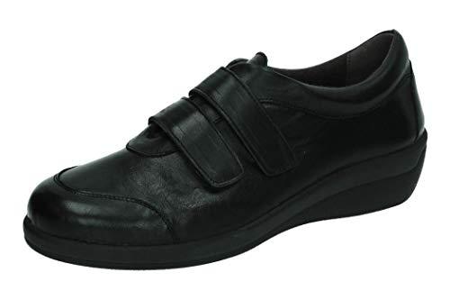 Doctor Schuh aus Leder, Schwarz - Schwarz - Größe: 40 EU
