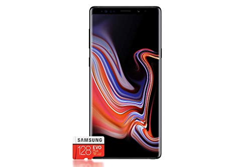 Samsung Galaxy Note 9 Bundle (128GB, Dual Sim) + Samsung Evo Plus 128 GB Speicherkarte - Deutsche Version